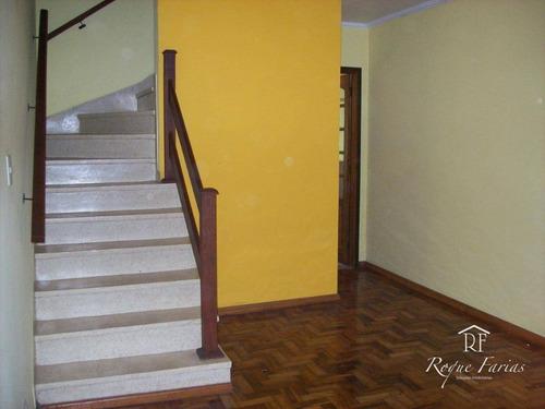 Sobrado Com 3 Dormitórios À Venda, 109 M² Por R$ 550.000,00 - Jaguaré - São Paulo/sp - So0646
