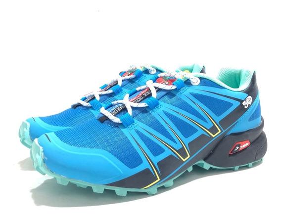 Zapatilla Outdoor Mujer I-run 0325695 El Mercado De Zapatos!