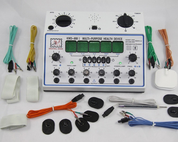 Eletroestimulador Fisioterapia Kwd 808i 6 Canal Profissional