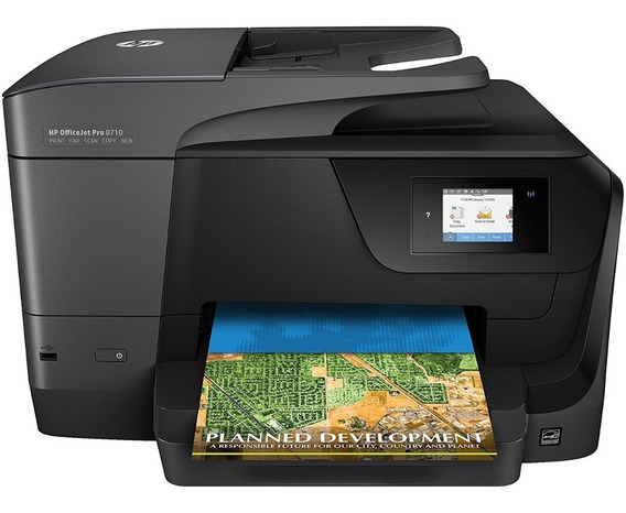 Impressora Multifuncional Jato De Tinta Hp 8710 - Usada