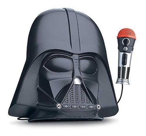 Altavoz Portátil Star Wars Darth Vader Parlante Cambio Voz