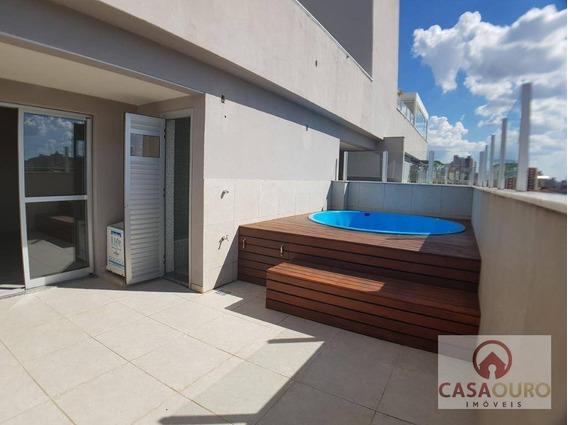 Cobertura Residencial À Venda, Sagrada Família, Belo Horizonte. - Co0087