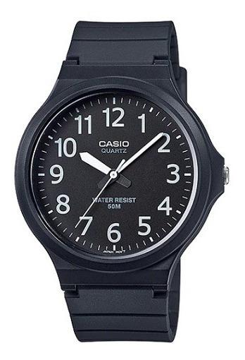 Relógio Casio Masculino Analógico Preto Original Nota Fiscal