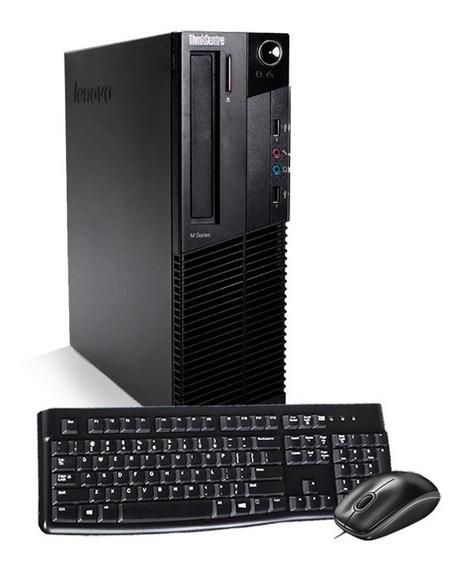 Pc Lenovo M92p I5 3ºgeraç 8gb Hd500gb Tecla Mouse Mostruário