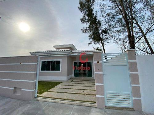 Imagem 1 de 15 de Casa Térrea Com 3 Quartos Sendo 1 Suíte À Venda, 100 M² Por R$ 330.000 - Residencial Rio Das Ostras - Rio Das Ostras/rj - Ca2306