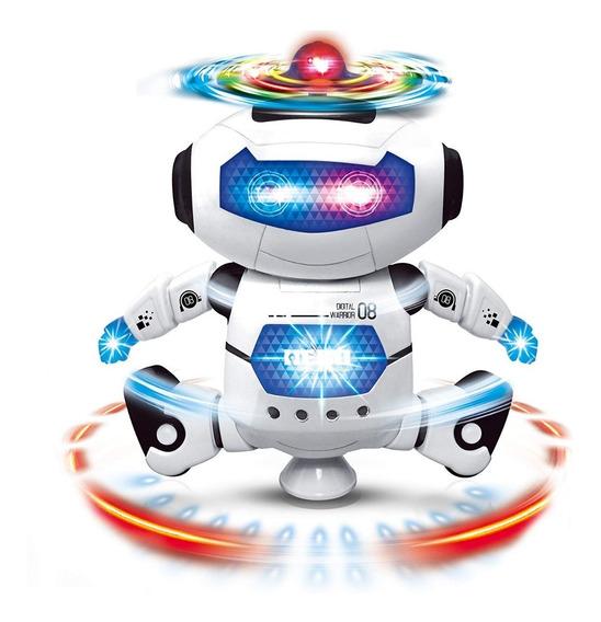 Robot Bailarin Para Niños Y Niñas Con Sonido Y Luces Juguete