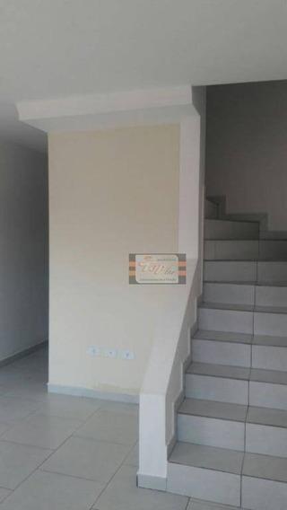 Sobrado Com 2 Dormitórios À Venda, 59 M² Por R$ 210.000 - Vila Santista - Franco Da Rocha/sp - So0639