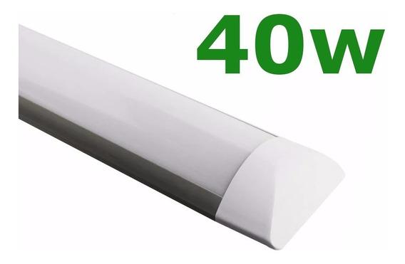 7 Slim 120cm Branco Frio + 2 Refletores 100w Branco Frio