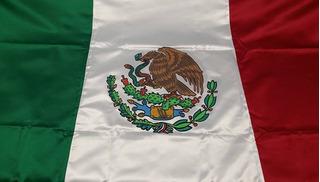 Bandera Mexico Reglamentaria 1 Tela, Satinada 90 X 158 Envio