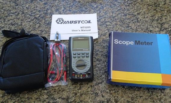 Osciloscópio + Multímetro Mt8205 2 Em 1 Promoçao!
