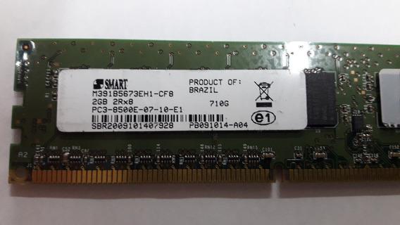 Memória Servidor Ecc Pc3l 2gb Smart Pc3l 8500e 2rx8 1066mhz