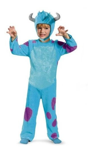 Disney Pixar Monsters University Sulley Toddler Traje Clã¡