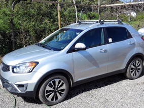 Korando Perfecto Estado 4x4 Full Top Line, Año2016, 25000 Km