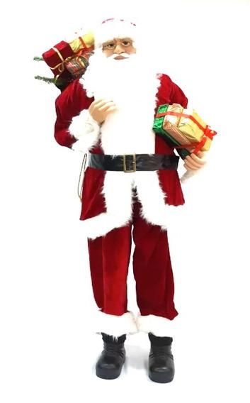 Papá Noel Rojo Art. De Lujo 1,80mts #31023 - Sheshu Navidad