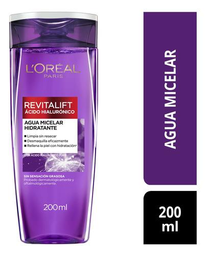 Imagen 1 de 9 de Agua Micelar L'oréal Paris Ácido Hialurónico X 200ml