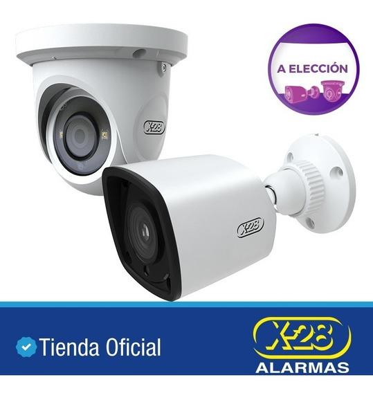 2 Cámaras Seguridad X-28 Metal 1080p Lente Sony Ip66