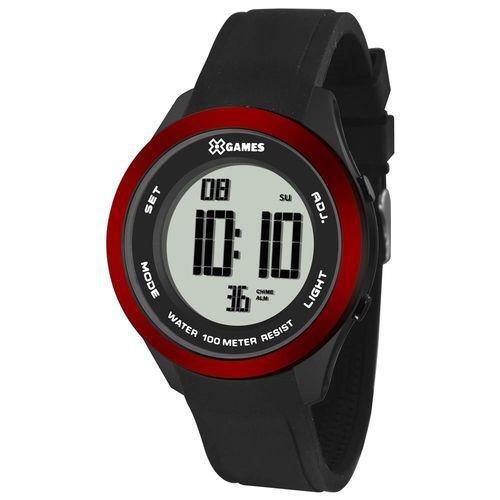 Relógio Unissex X Games Digital Esportivo 100 Mts Xmppd388