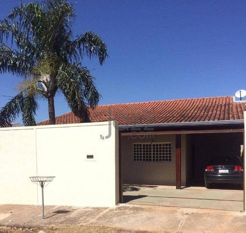 Casa Residencial À Venda, Bosque Das Palmeiras, Campinas. - Ca2442