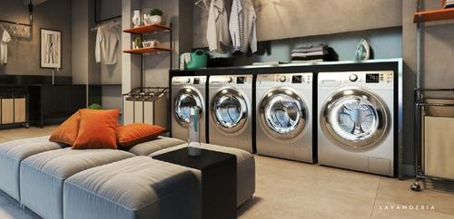 Apartamento Garden Com 2 Dormitórios À Venda, 39 M² Por R$ 332.442,33 - Vila Butantã - São Paulo/sp - Gd0049