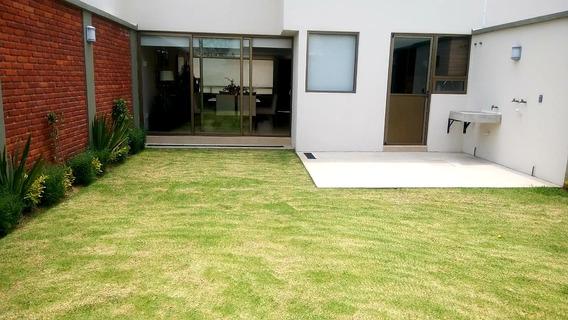 Hermosa Casa Con Amplio Jardín A 15 Min De Galerías Metepec