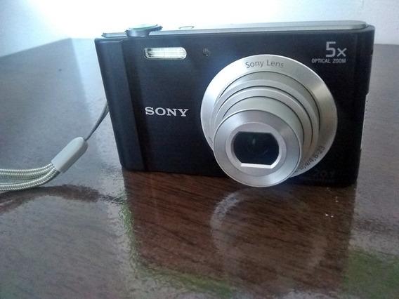 Câmera Digital Sony Cyber-shot Dsc-w800 20.1 Mp