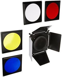 Kit Fotodiox Fotodiox Universal Barndoor Con Rejilla Honeyco