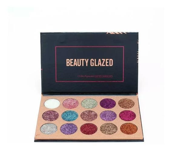 Paleta De Glitter Prensado Bealty Glazed A Pronta Entrega