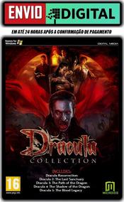 Dracula Collection - 5 Jogos - Pc - Envio Digital
