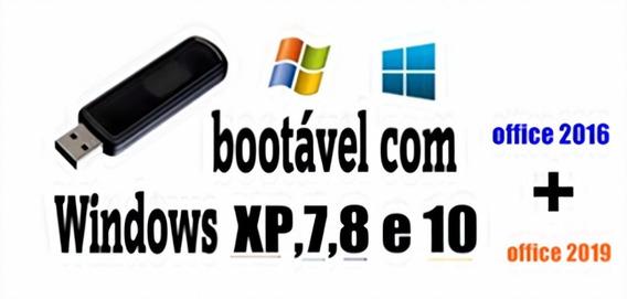 Iso Botavel P Pendrive P/formatação Wxp/7/8/8.1/10