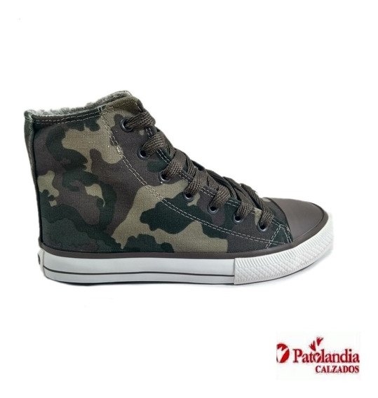Zapatillas Rave Lona Unisex Camufladas N°: 34/44