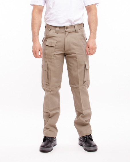 Pantalones De Trabajo Pampero Cargo Cazador 38 Al 54 Pam31