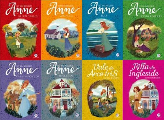 Kit 8 Livros Anne De Green Gables - Anne With E Em Português