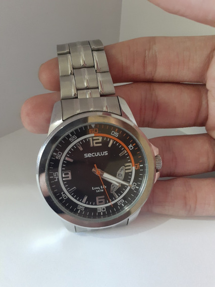 Relógio Séculus Prata