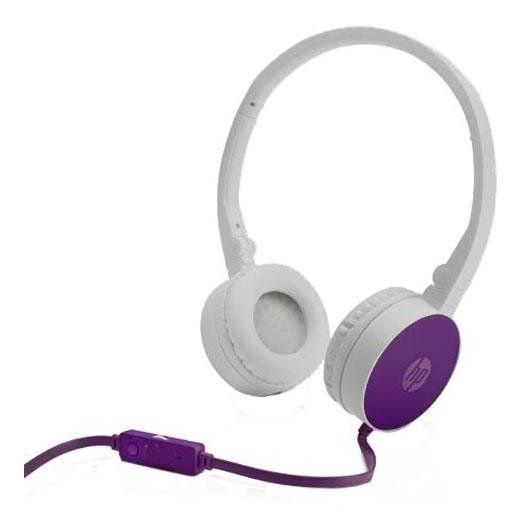 Headset Hp H2800 Dobrável Roxo