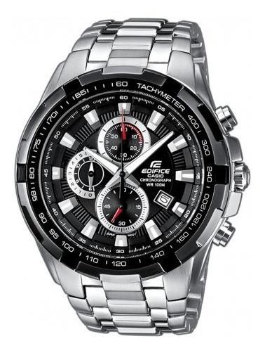 Relógio Hx019b Casio Edifice Ef558c Preto Puls. Aço Inox T