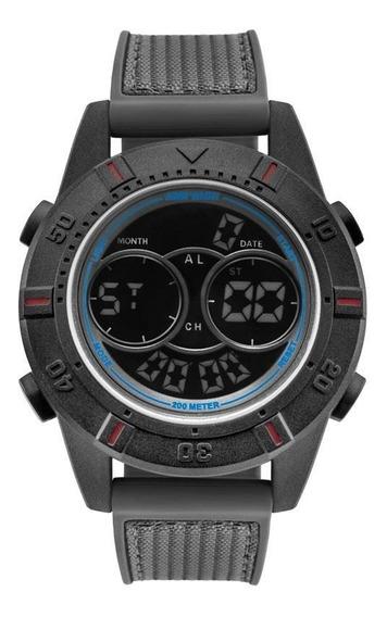 Relógio Masculino Mormaii Molcdaaa/8a Silicone / Tecido