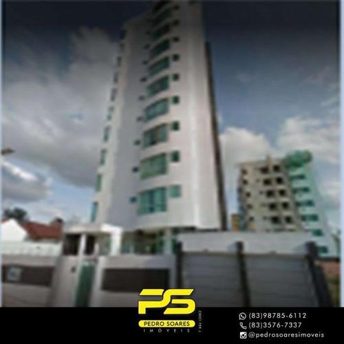 Apartamento Com 2 Dormitórios À Venda, 139 M² Por R$ 319.000 - Jardim Tavares - Campina Grande/pb - Ap3564
