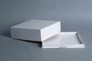 Caja Base Bandeja + Tapa 30 X 30 X 11 Cm (x48 U.) Tortas Tartas Postres Semifrios - Bauletto
