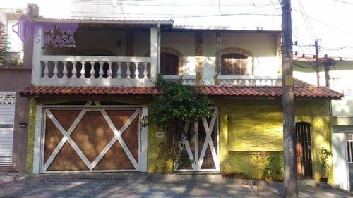Sobrado Com 3 Dormitórios À Venda, 445 M² Por R$ 957.000,00 - Jardim Jamaica - Santo André/sp - So0490