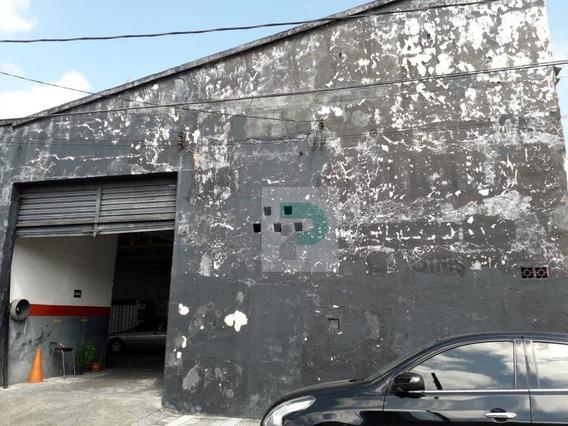 Venda De Galpão No Centro De Mogi Das Cruzes - Ga0013