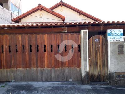 Casa De 2 Quartos, No Jardim Califórnia, São Gonçalo. - Ca1566