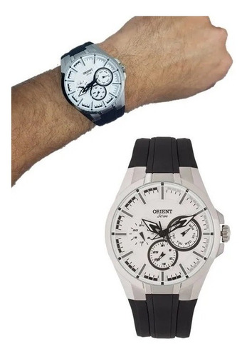 Imagem 1 de 7 de Relógio Masculino Orient  Multifunção  Mbspm014 S1px