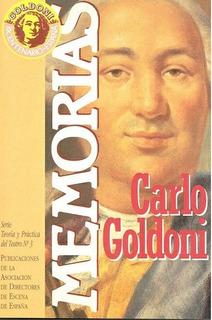Memorias, Carlo Goldoni, Ed. Ade