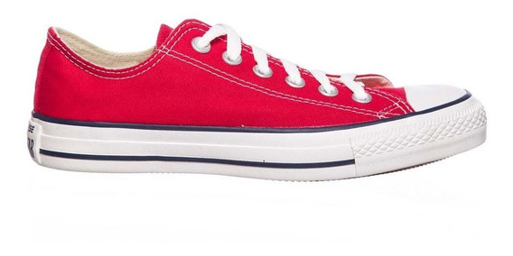 Zapatillas Converse All Star Ox Rojo