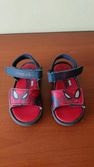 Sandalias Con Luces Atomik Spider Man Talle 24