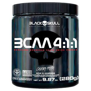 Bcaa Em Pó 4:1:1 - Black Skull 280g - Lançamento