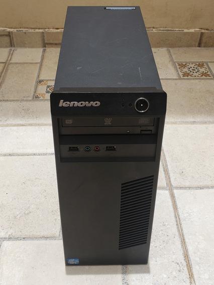 Cpu Lenovo Core I3 4gb 500 Hd Serve Como Servidor P Comércio