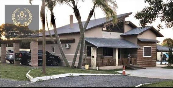 Chácara Com 3 Dormitórios À Venda, 8000 M² Por R$ 1.950.000 - Águas Claras - Viamão/rs - Ch0022