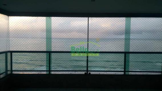 Apartamento Com 4 Dormitórios Para Alugar, 202 M² Por R$ 7.000/mês - Boa Viagem - Recife/pe - Ap1383