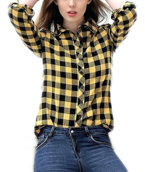 Camisas Entalladas Cuadros Mujer- Escocesas - Prim - Origin